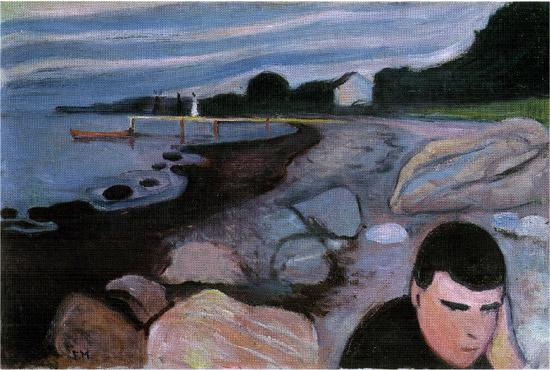 Edvard-Munch---melancholy-(1891---92)-