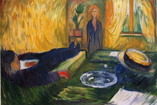 The Murderess - Edvard Munch - 1906