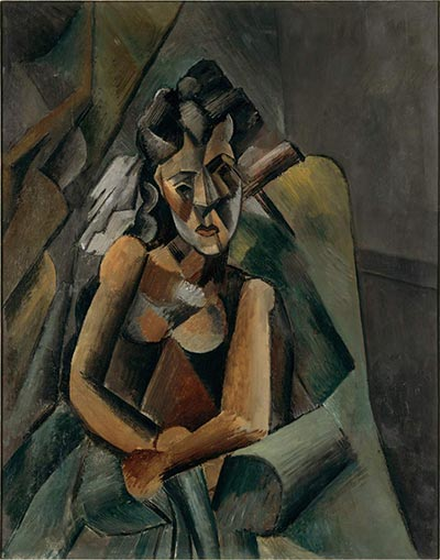 Pablo Picasso (1909) Femme Assise